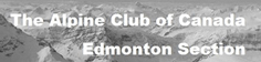 Edmonton Section of the Alpine Club of Canada