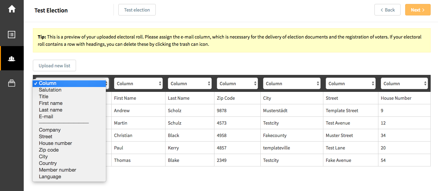 Manage and view your electoral roll online with POLYAS