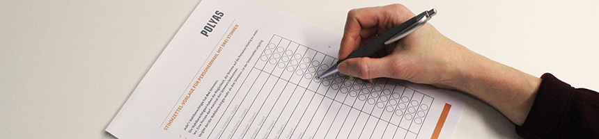 Ballot Paper Templates for Cooperatives